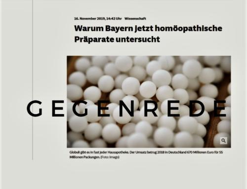 Leserbriefe an die Süddeutsche Zeitung: Volle Dosis Voreingenommenheit!