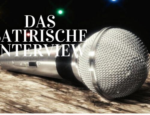Das satirische Interview
