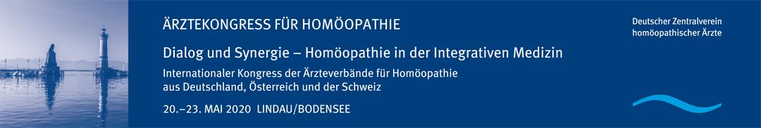 Ärztekongress für Homöopathie 2020