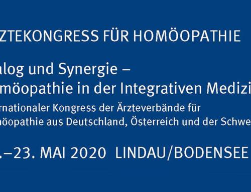 DZVhÄ: Ärztekongress für Homöopathie im Mai in Lindau