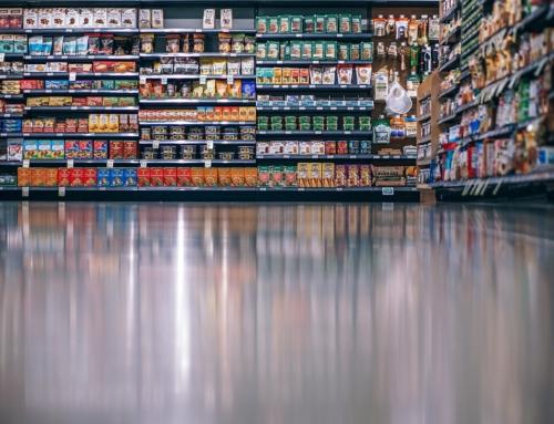 Persiflage auf LINKE Beschluss: Demnächst im Supermarkt…